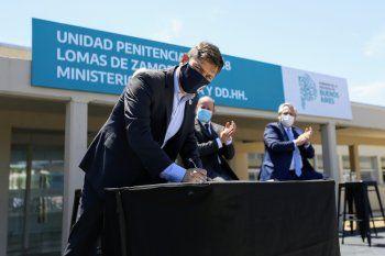 Kicillof aseguró que trabajará para mejorar la calidad de vida en las cárceles.