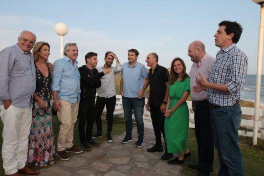alberto fernandez y kicillof se reunieron con productores teatrales en chapadmalal