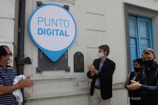inauguran nuevo punto digital en leandro n. alem