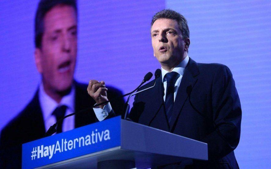 """Massa y el Frente Renovador hacen un llamado amplio para tener una campaña electoral limpia"""""""