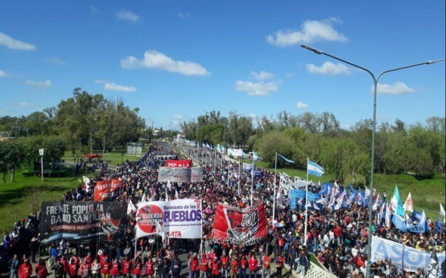 Levantan los piquetes y se libera el tránsito en la Autopista La Plata - Buenos Aires