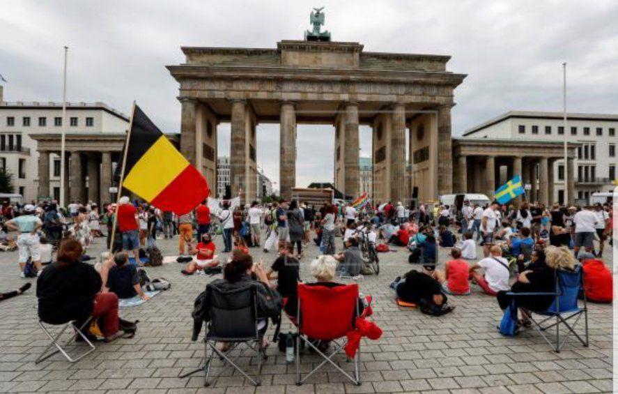 Los casos en Alemania aumentaron de forma exponencial
