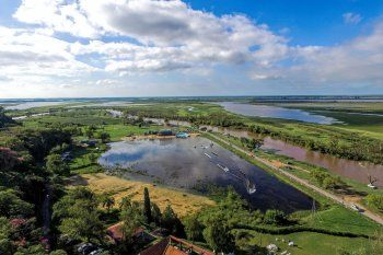 San Nicolás: continúan las obras ilegales en Parque Aguiar visibilit