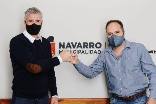 Facundo Diz asumió la intendencia de Navarro (Foto: prensa Navarro)