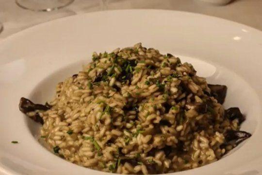 cocina de cuarentena: ¿te le animas a un risotto de hongos con toto liera?