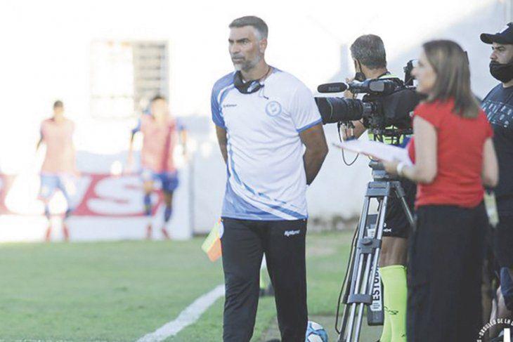 Laureano Franchi, entrenador de Villa San Carlos
