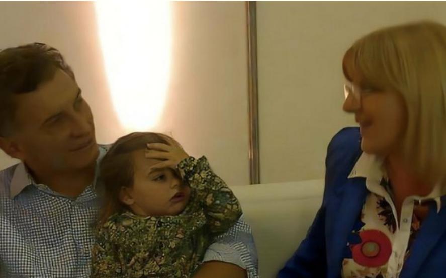Macri dijo que no conoce a Martinengo: se viralizó una foto con Antonia y llovieron los memes