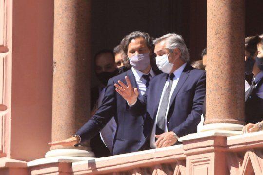 El presidente Alberto Fernández dejó establecido el nuevo gabinete