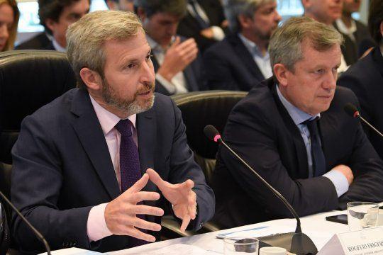 Frigerio y Monzó, víctimas de los dardos de Mauricio Macri