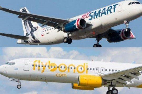 flybondi y jetsmart admiten que podrian volar desde ezeiza