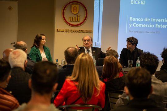 El titular del BICE se renió con empresarios de Mar del Plata para presentarles líneas de créditos de inversión