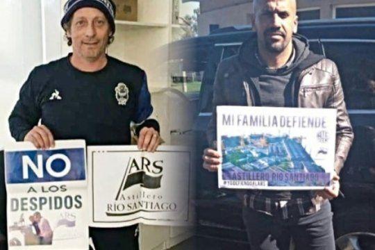 los clubes de la plata unidos por la causa del astillero rio santiago