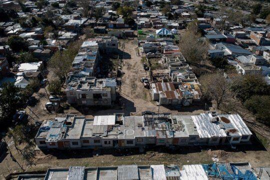 tras la emergencia por el coronavirus, avanza la urbanizacion de villa azul