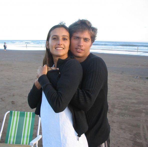 Kicillof junto a su compañera