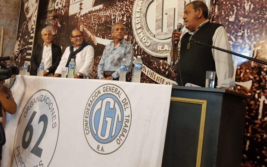 """Con 51 gremios y reclamo de espacios, relanzaron las """"62 Organizaciones Peronistas"""""""