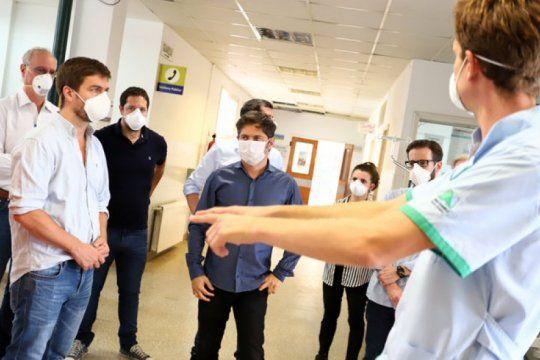 para equiparse frente al virus, kicillof se apoya en los intendentes y las organizaciones sociales