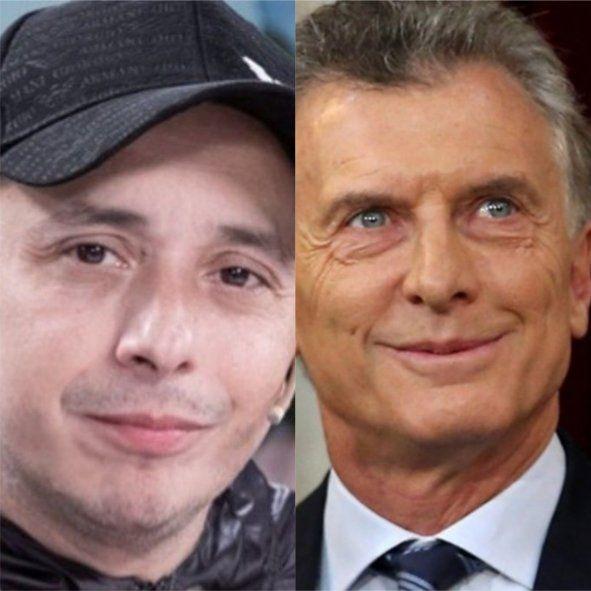 El Dipy dijo que no era macrista pero pidió selfie con Macri