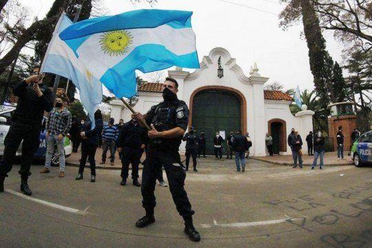 Los vínculos entre el PRO y la protesta de la policía bonaerense