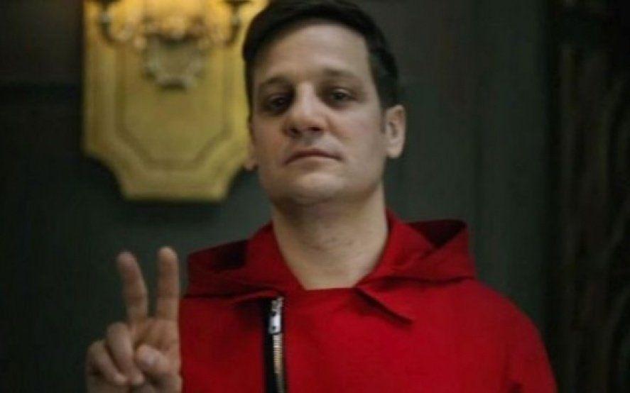 """El """"palito"""" de Rodrigo de la Serna al gobierno, mientras promocionaba """"La casa de Papel"""""""