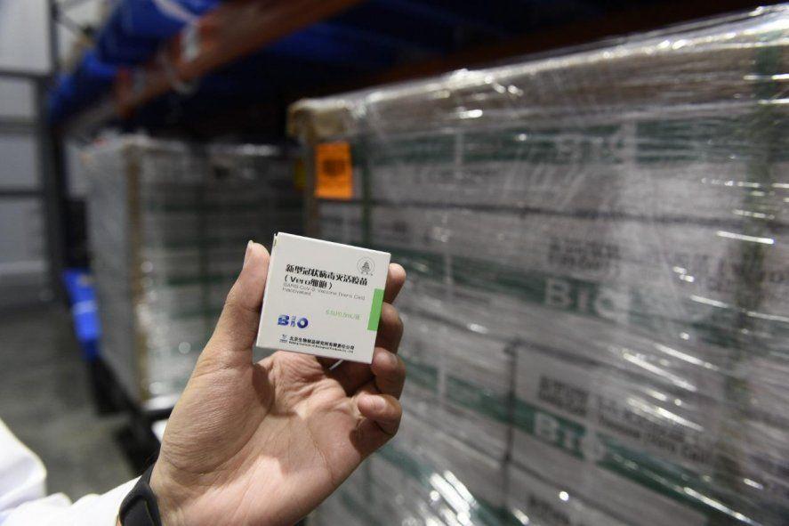 El primer lote de vacunas Sinopharm llegó a fines de febrero. Se las utilizó principalmente en menores de 60.