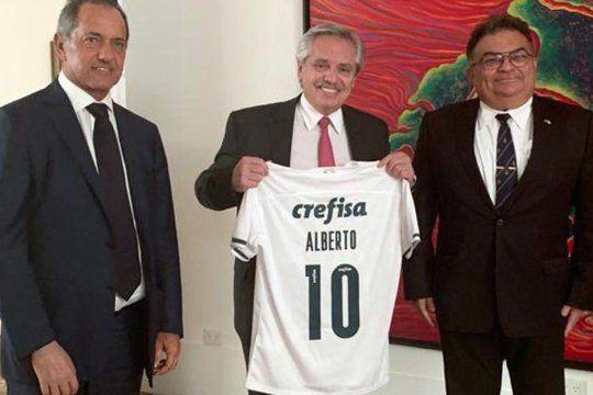 Alberto Fernández recibió a un hombre clave de Bolsonaro
