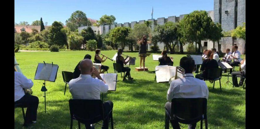 La Banda de Música del SPB en otro homenaje destacado
