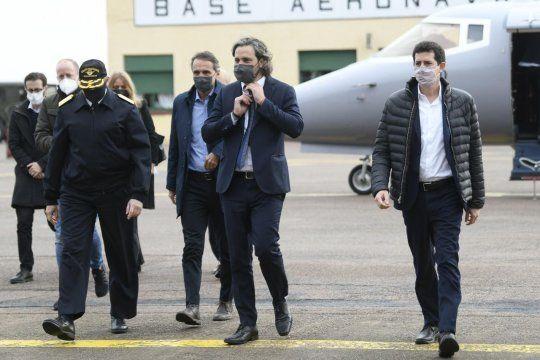 Wado De Pedro, ministro del Interior, habló sobre el atentado contra La Cámpora en Bahía Blanca