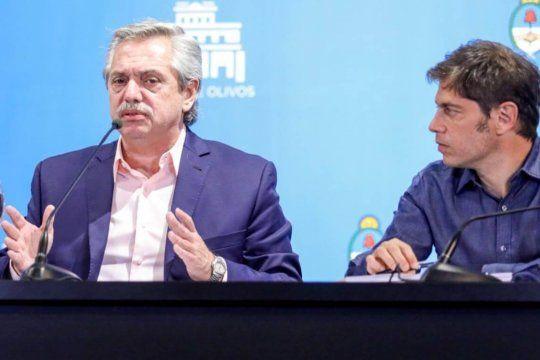 Alberto y Kicillof anunciaron el millón de vacunados con fuertes críticas a la oposición