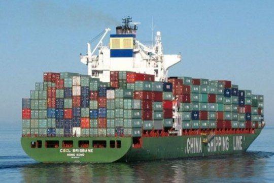 este lunes llegara el primer barco de china a la provincia con insumos basicos para hospitales