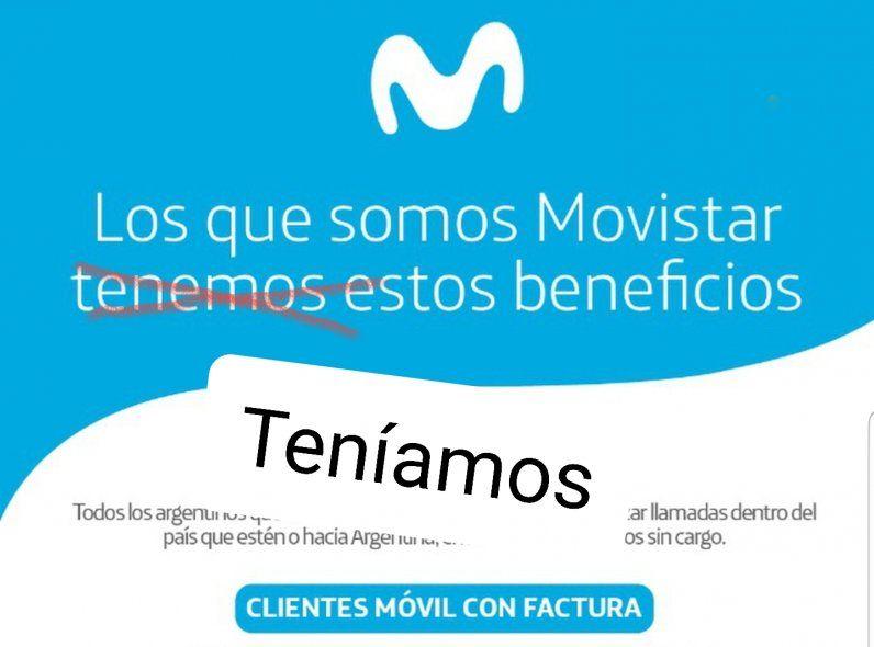 Movistar quitó repentinamente descuentos y beneficios a los clientes más antiguos. ¿Cómo hacer para que los repongan?