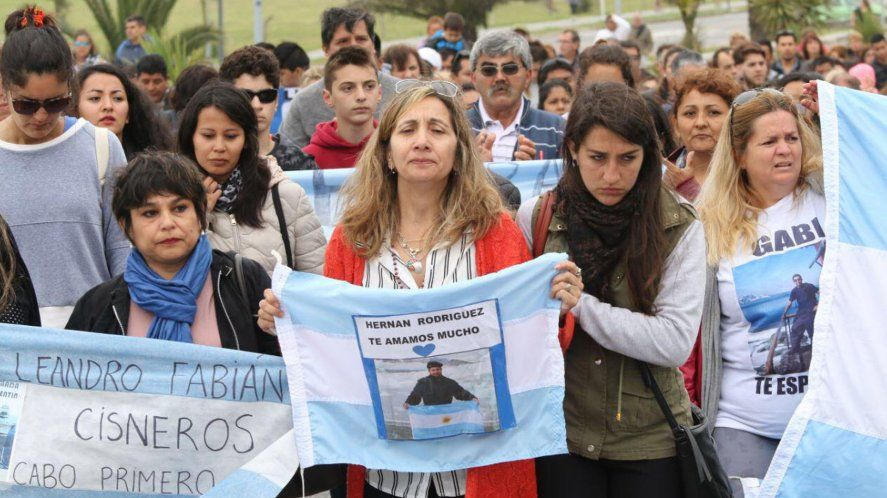 ARA San Juan: beneficio económico a familiares de víctimas