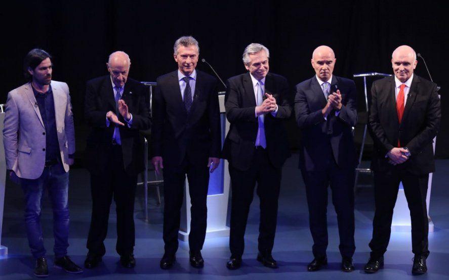 Debate presidencial: los candidatos abordaron la política agropecuaria a cuentagotas
