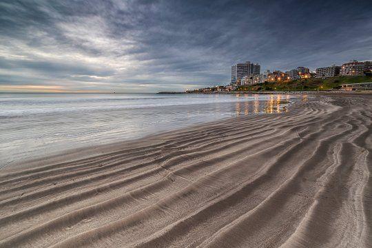Mar del Plata fue uno de los destinos más elegidos por los bonaerenses (foto: @mardelplata)