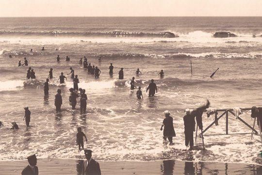 El Museo Histórico Nacional publicó imágenes históricas de Mar del Plata hace más de 100 años.