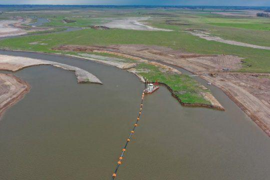 la provincia presento un novedoso sistema para prevenir inundaciones y sequias