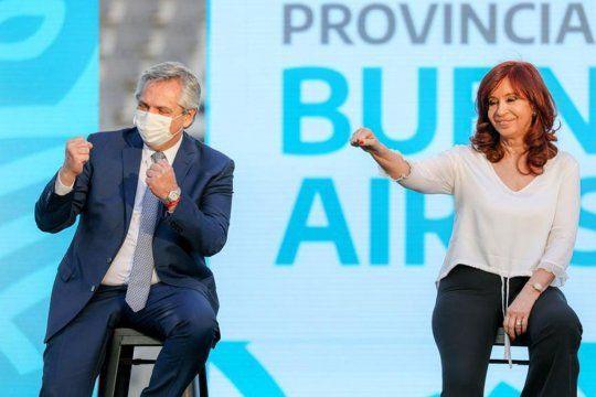 Alberto y Cristina encabezan el cierre de campaña en la previa de las PASO