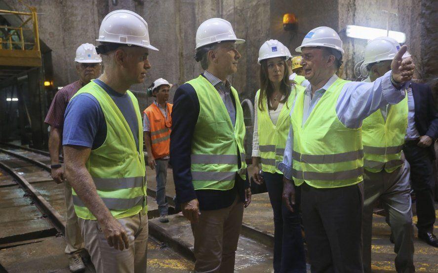 En el día de su cumple, Macri se mostró con Vidal y Larreta, sus dos espadas de campaña