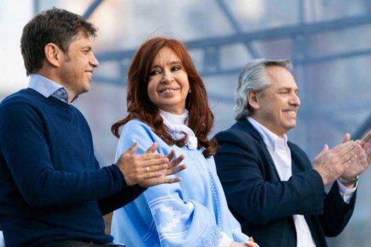 El gobernador Kicillof encabezará un acto que contará con la presencia de Alberto Fernández y Cristina Kirchner. Se reúne el mando del FdT.
