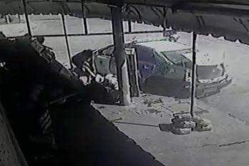 Dos personas heridas tras choque entre patrulleros