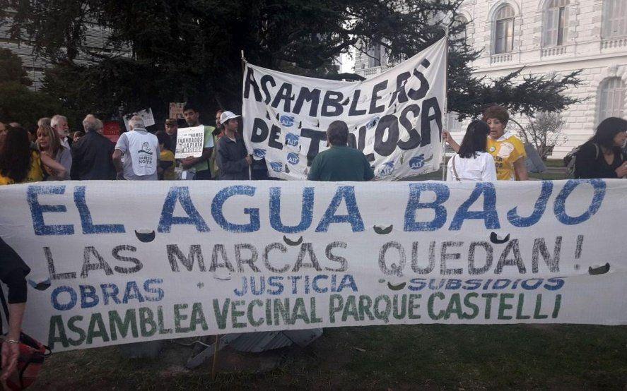 A seis años de la peor inundación de La Plata, los vecinos vuelven a marchar