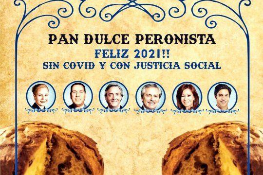 Packaging del Pan Dulce Peronista de la economía social
