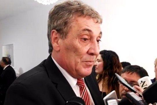 vicente lopez: pesar por la muerte del presidente del hcd