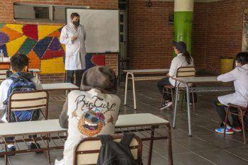 Hoy comienzan las clases presenciales en la provincia de Buenos Aires.