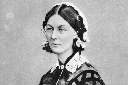 Florence Nightingale nació el 12 de mayo de 1820