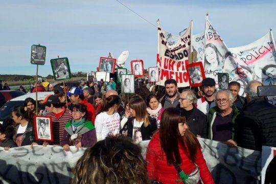 masacre de monte: furia en los familiares por el faltazo de la intendenta mayol al hcd
