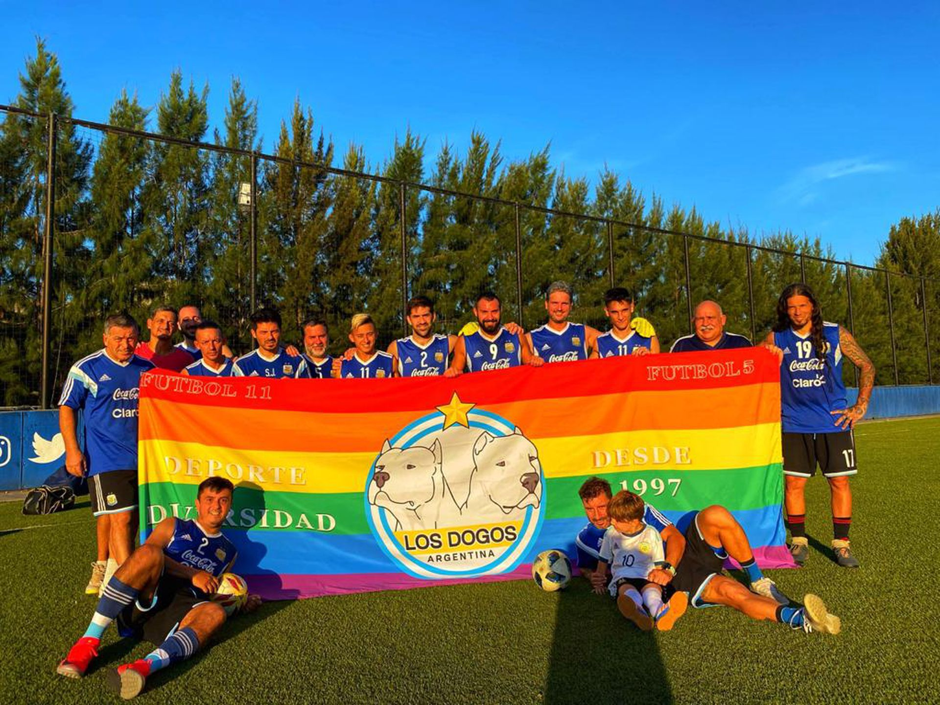 Orgullosos y argentinos: Los Dogos serán anfitriones del mundial de fútbol gay