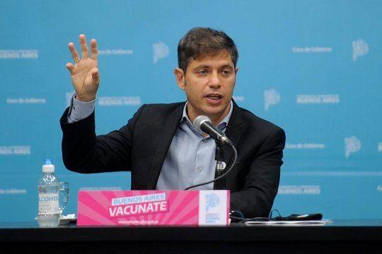 Kicillof anunció un paquete de medidas de alivio
