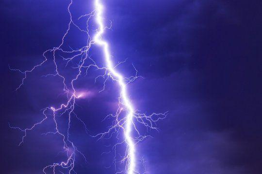 alerta meteorologico: tormentas fuertes, granizo y rafagas