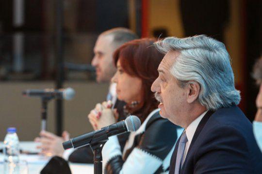 Viento de cola: Alberto Fernández y Cristina Fernández de Kirchner frente a la metáfora favorita de las redacciones.