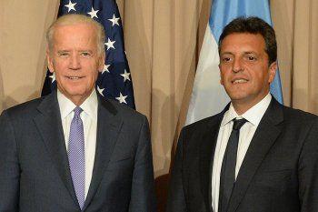 Sergio Massa es el vínculo más cercano del Gobierno Nacional con la Casa Blanca, y quien intercedió para que los legisladores norteamericanos pidan más flexibilidad al FMI.